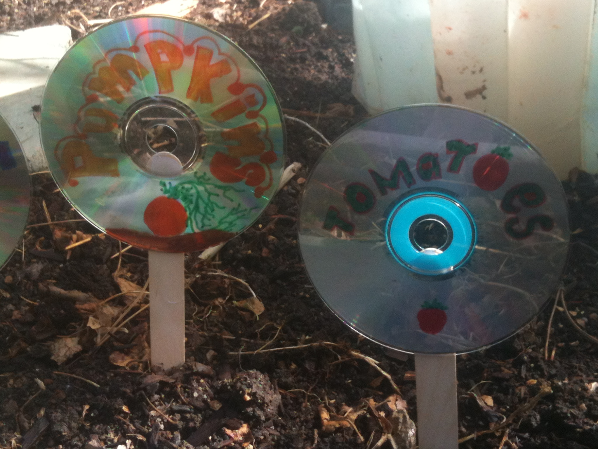 Boulder family projects diy recycled garden markers for Diy recycled projects