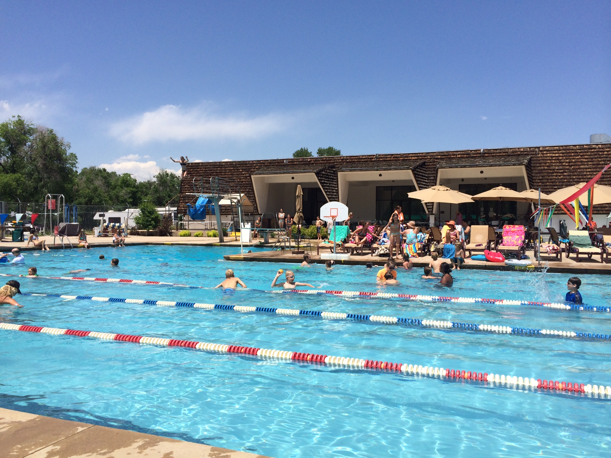 City of boulder bolder families for Pool party daily show
